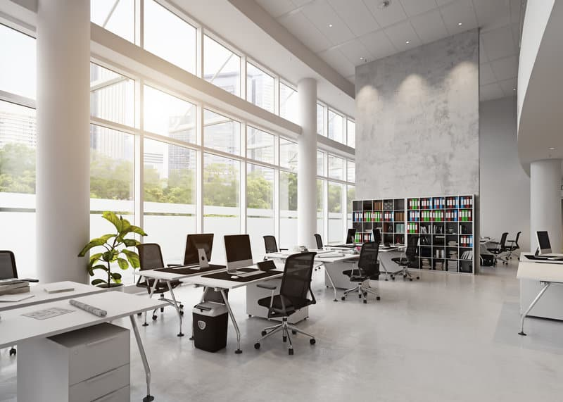 protecting your assets how office window tinting helps with security